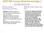 aed 201 course real knowledge aed201dotcom4