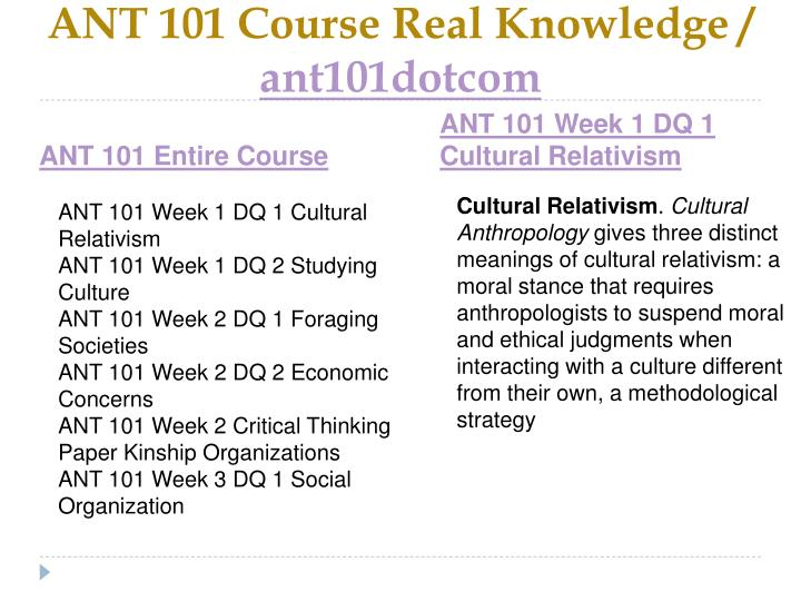 Ant 101 course real knowledge ant101dotcom1