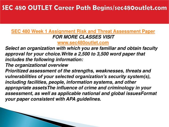 Sec 480 outlet career path begins sec480outlet com2