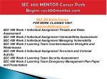 sec 400 mentor career path begins sec400mentor com1
