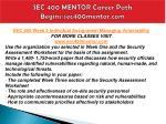 sec 400 mentor career path begins sec400mentor com4