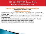 sec 400 mentor career path begins sec400mentor com7
