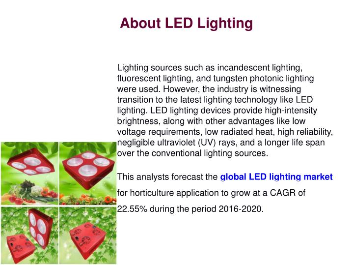 About LED Lighting