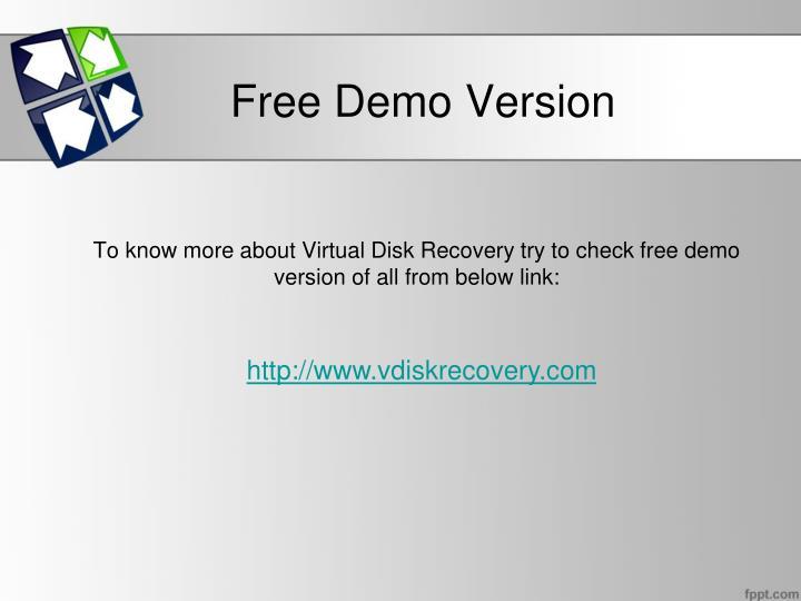 Free Demo Version