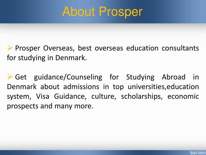 About prosper