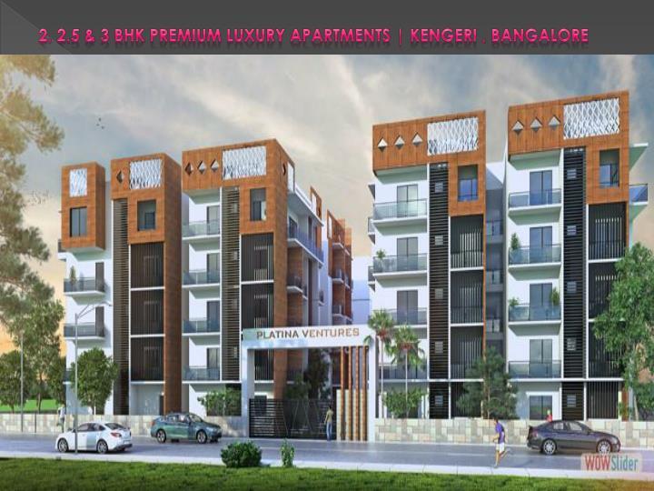 2, 2.5 & 3 BHK Premium Luxury Apartments |
