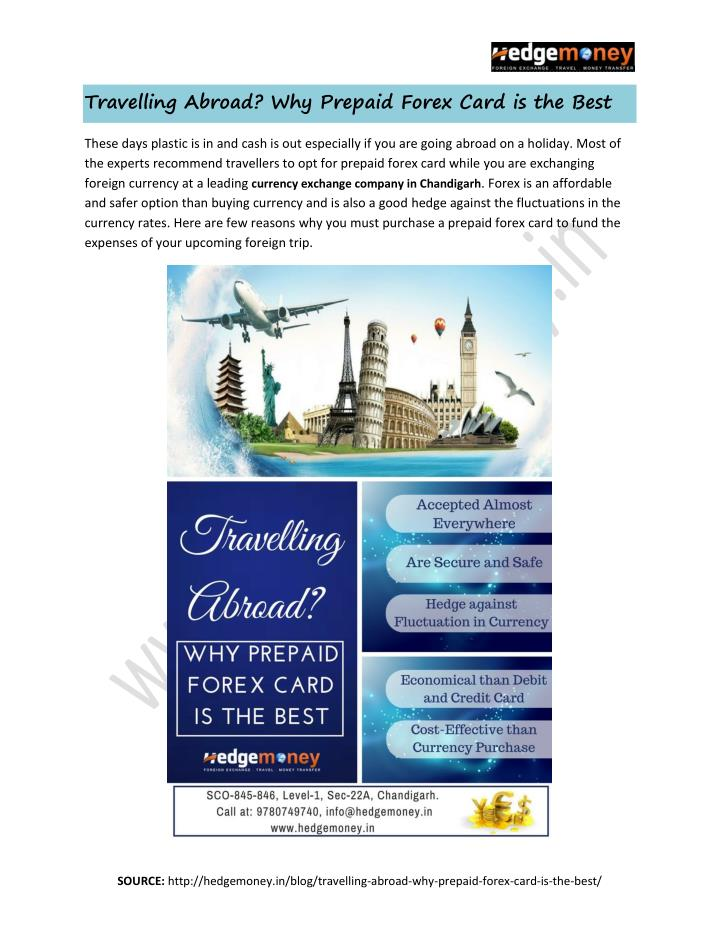 Travelling Abroad? Why Prepaid Forex Card is the Best