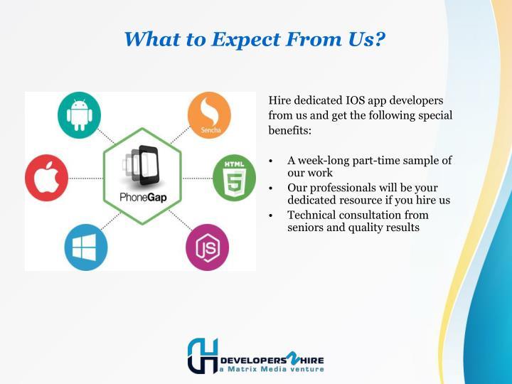 Hire dedicated IOS app developers