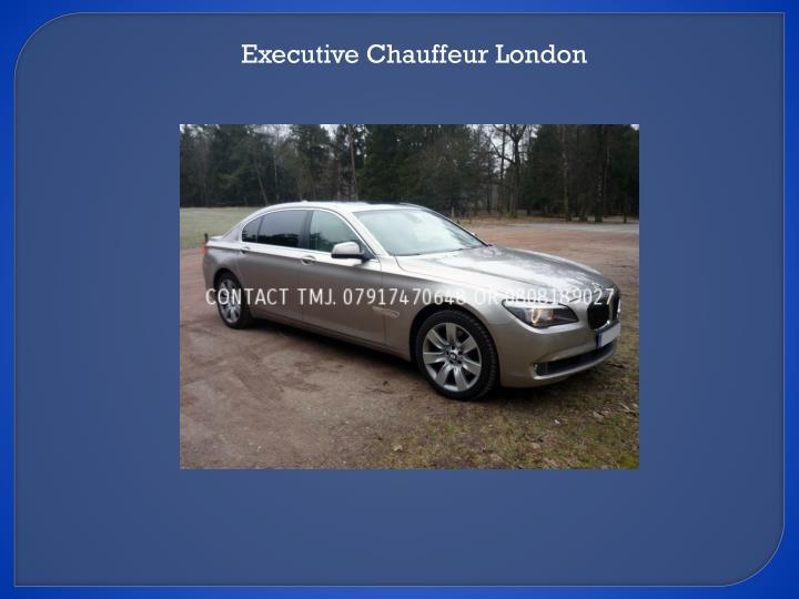 Executive Chauffeur London