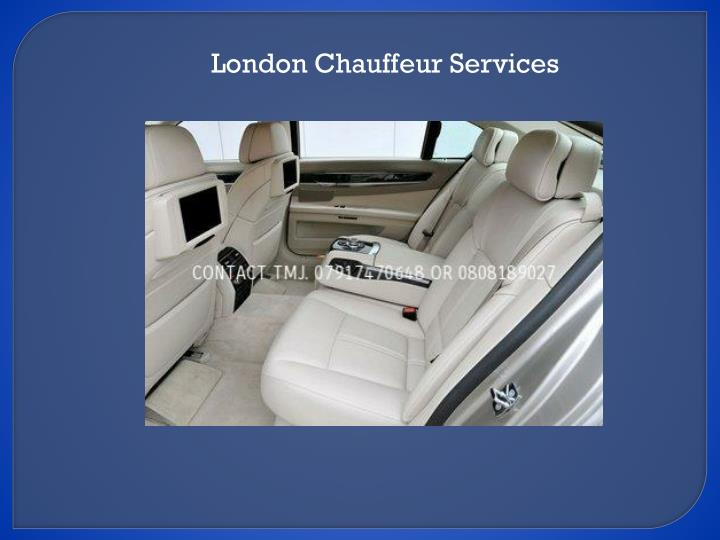 London Chauffeur Services