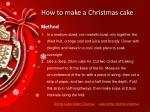 how to make a christmas cake4