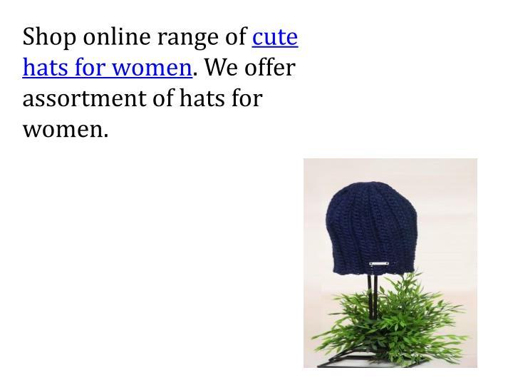 Shop online range of