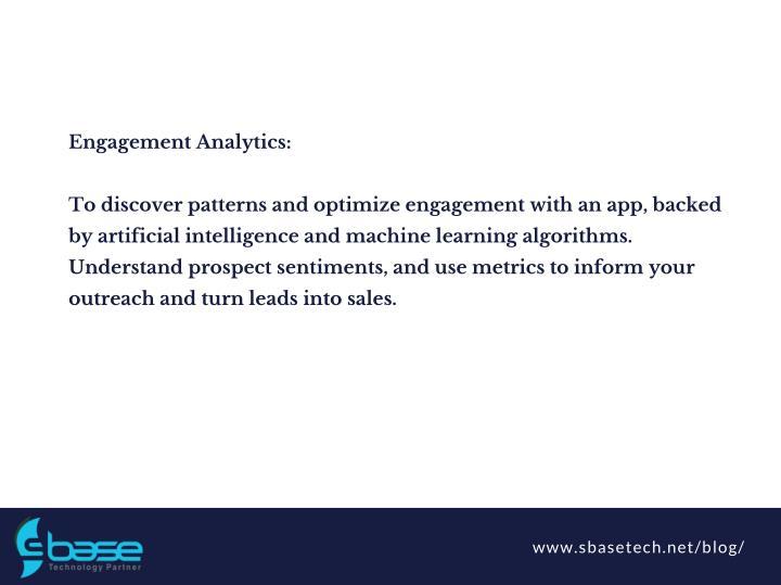 Engagement Analytics: