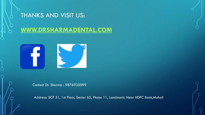 Thanks and Visit Us