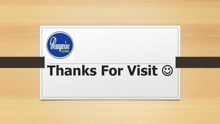 Thanks For Visit