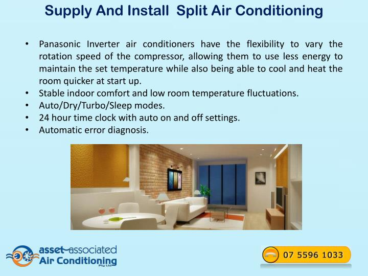 Supply And Install Split Air Conditioning