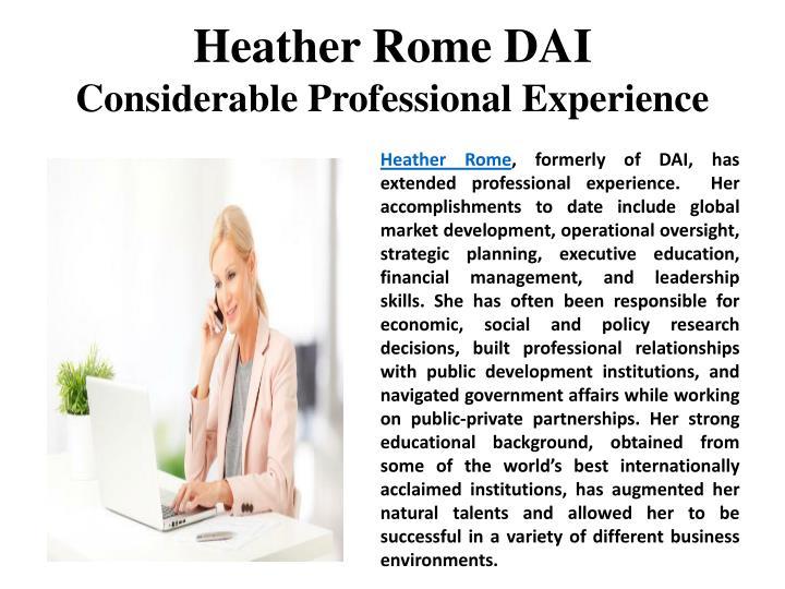 HeatherRomeDAI