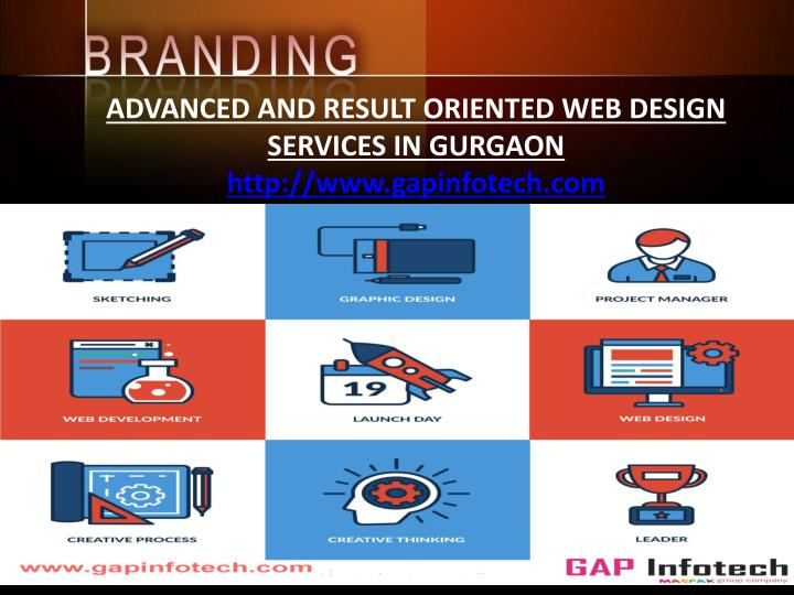 ADVANCED AND RESULT ORIENTED WEB DESIGN SERVICES IN GURGAON