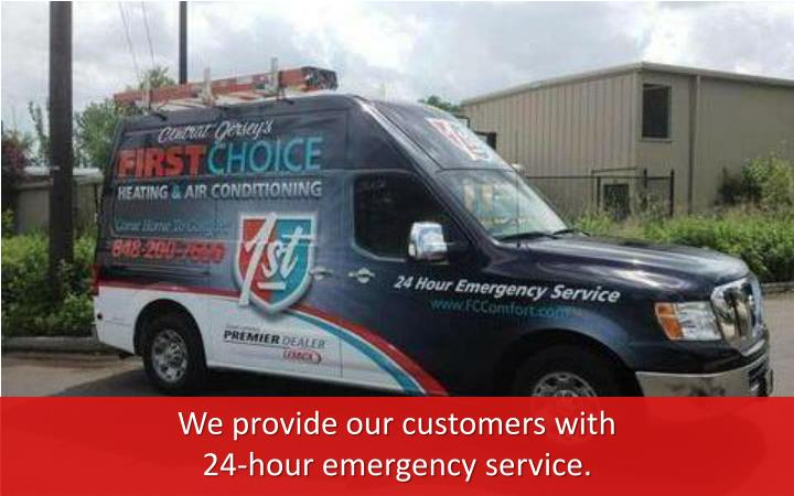 We provide our customers with