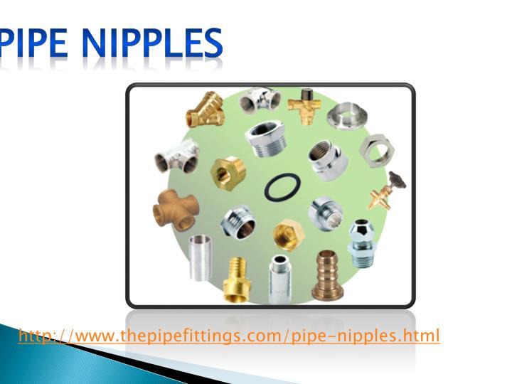 Pipe nipples