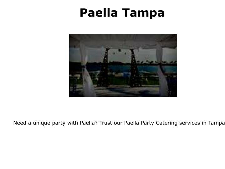 Paella Tampa