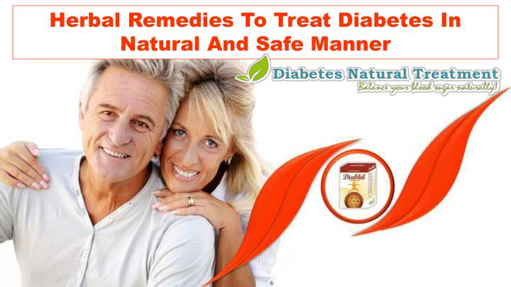 Herbal Remedies To Treat Diabetes In Natural And Safe Manner