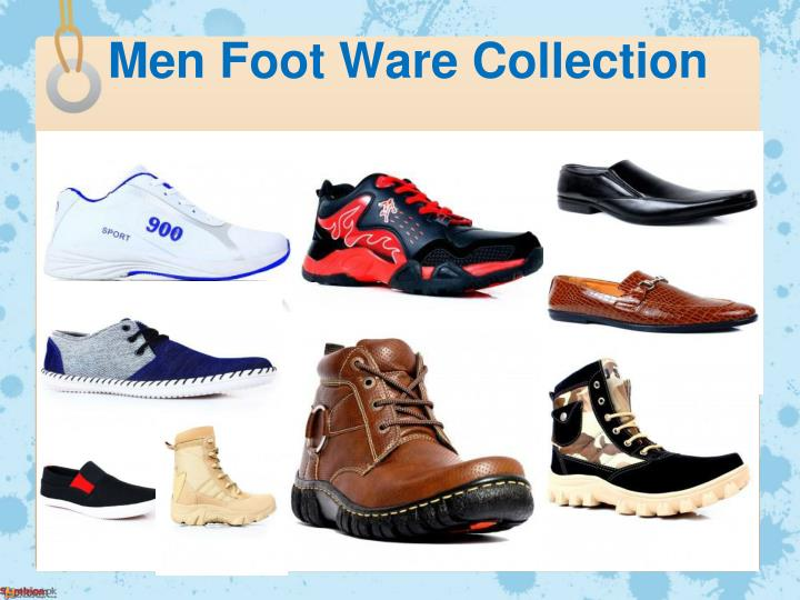 Men Foot Ware Collection