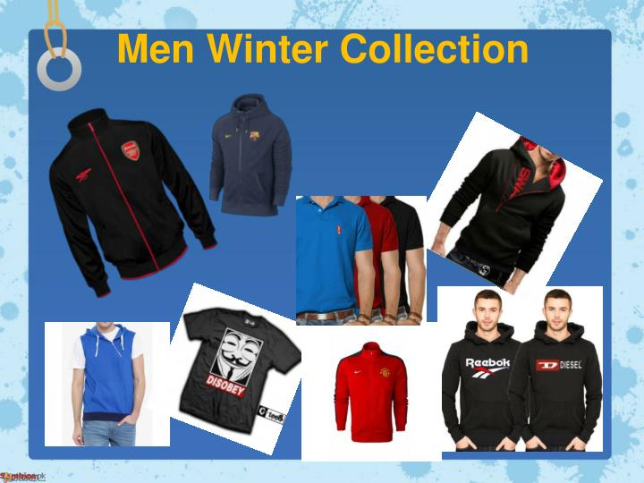 Men winter collection