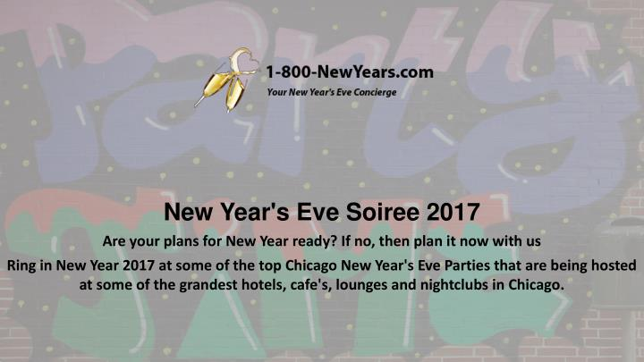 New Year's Eve Soiree 2017