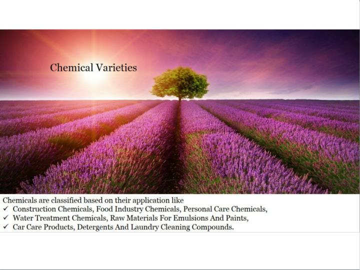 Industrial chemical products in uae