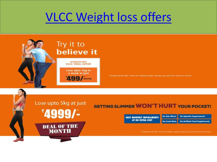 VLCC Weight loss offers