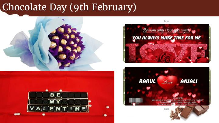 Chocolate Day (9th February)