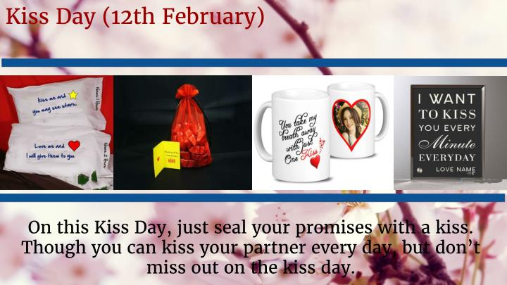 Kiss Day (12th February)