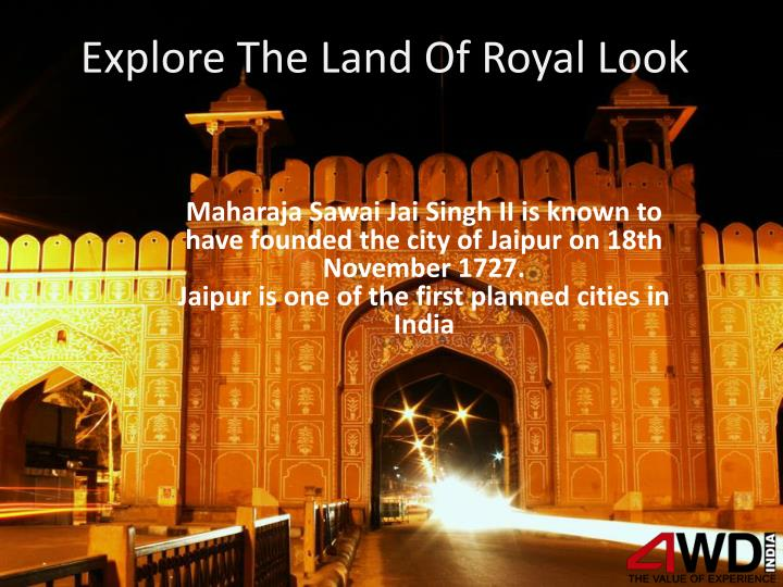 Explore the land of royal look