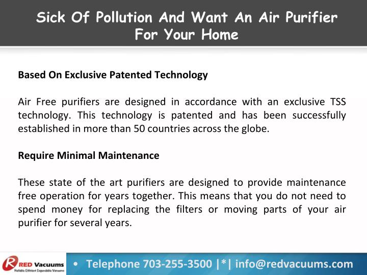 Sick Of Pollution And Want An Air Purifier