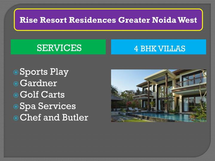 Rise Resort Residences Greater