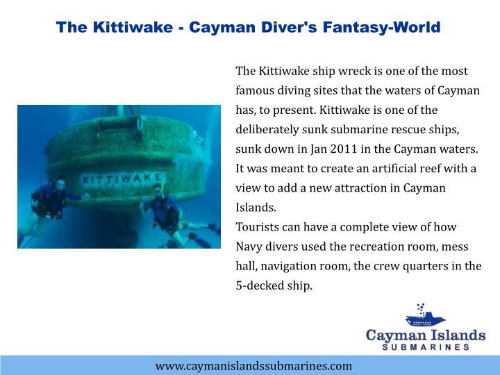 The Kittiwake - Cayman Diver's Fantasy-World