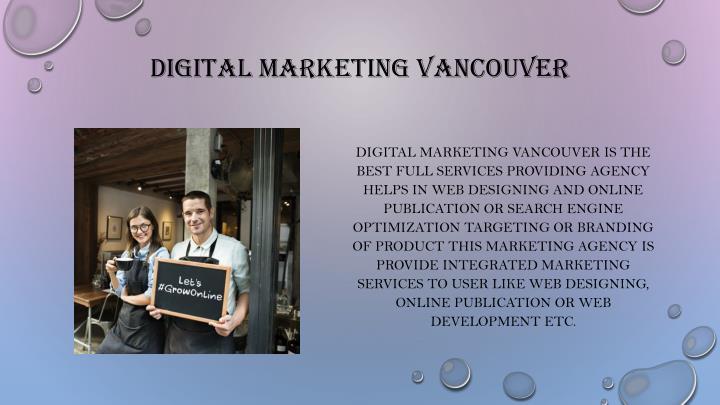 Digital marketing Vancouver