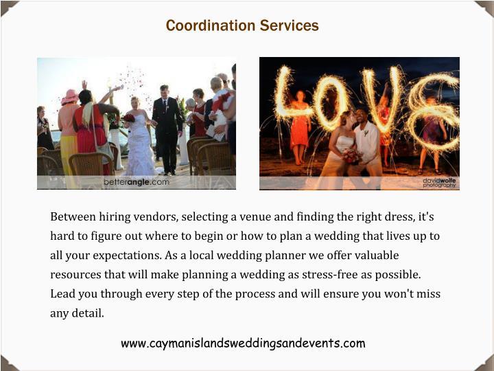Coordination Services