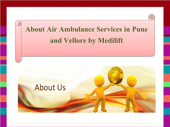 About Air Ambulance Services in