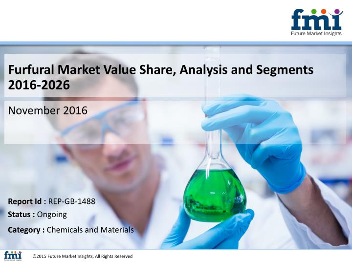Furfural Market Value Share, Analysis and Segments