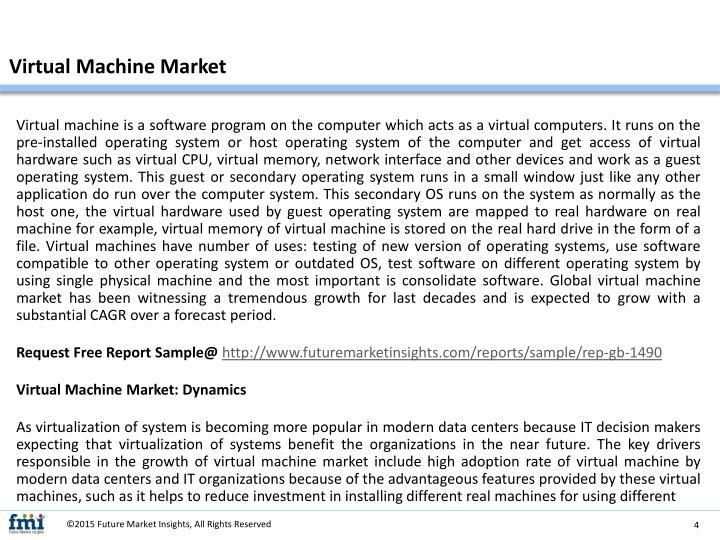 Virtual Machine Market