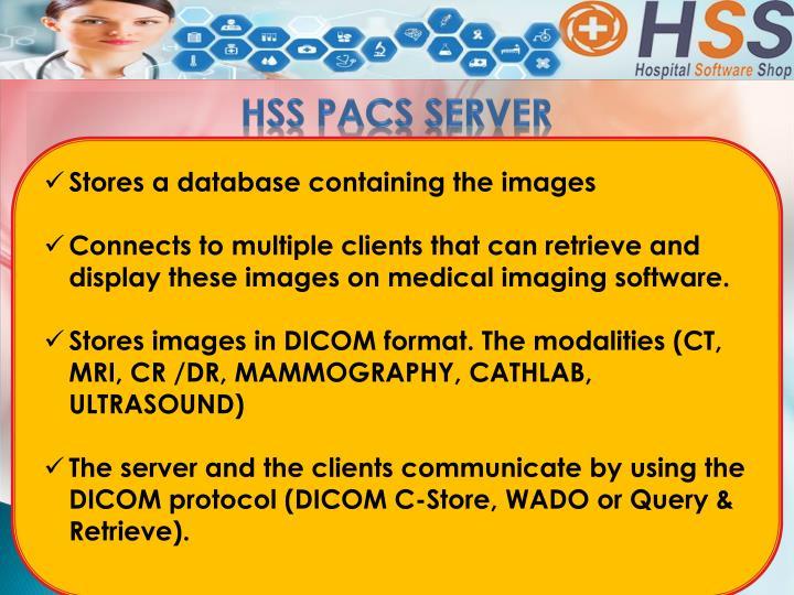 HSS PACS Server