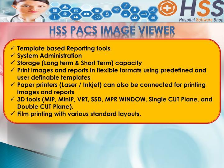 HSS PACS IMAGE VIEWER