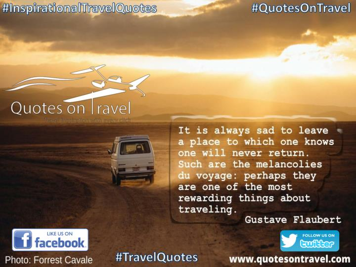 Inspirational travel quote by gustave flaubert quotes on travel