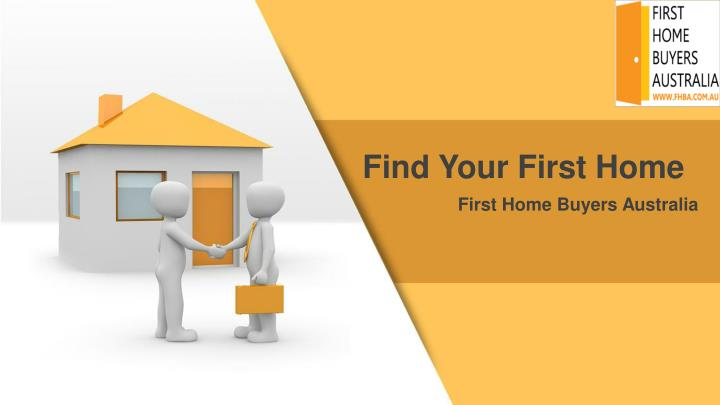 Find Your First Home