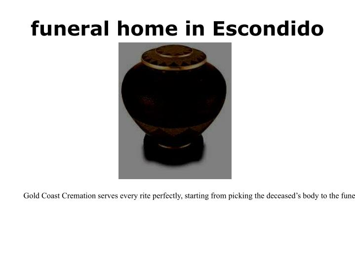 funeral home in Escondido