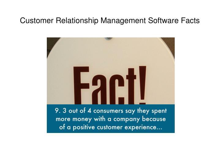 Customer Relationship Management Software Facts