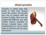 about lawsolva