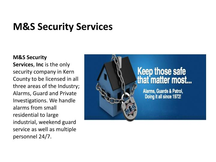 M s security services1